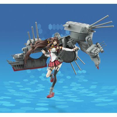 艦隊これくしょんのアーマーガールズプロジェクト 大和のフィギュアのおっぴろげ画像