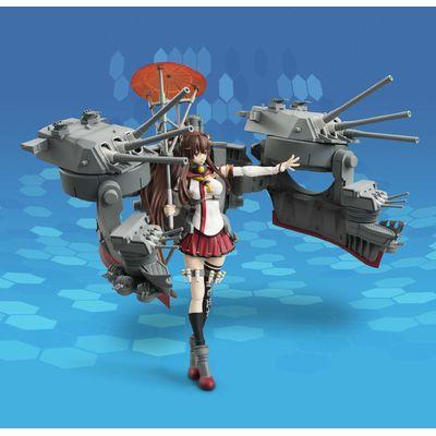 艦隊これくしょんのアーマーガールズプロジェクト 大和改のフィギュアが左手を上げている画像