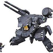 ヴァリアブルアクション D-SPEC メタルギアソリッド メタルギアREX Black.Ver 宮沢模型限定品 全長約120mm 塗装済み完成品 アクションフィギュア