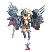 艦隊これくしょん -艦これ- 武蔵改 重兵装Ver. 1/8スケール ABS&ATBC-PVC製 塗装済み完成品フィギュア