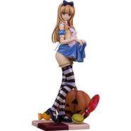 SKYTUBE コミック阿吽 Alice illustration by 深崎暮人 1/6スケール PVC製 塗装済み 完成品フィギュア