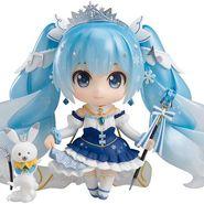 ねんどろいど キャラクター・ボーカル・シリーズ01 初音ミク 雪ミク Snow Princess Ver. ノンスケール ABS&PVC製 塗装済み可動フィギュア