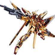 バンダイ スピリッツ METAL ROBOT魂 <SIDE MS> アカツキガンダム(オオワシ装備)約140mm ABS&PVC&ダイキャスト製 塗装済み可動フィギュア